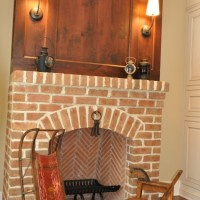 FIREPLACE IN INGLENOOK